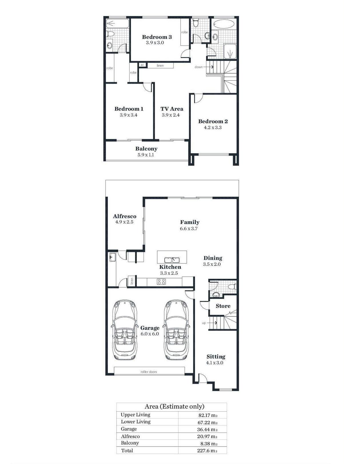 Floorplan - 2/9D Riverway Fulham Gardens